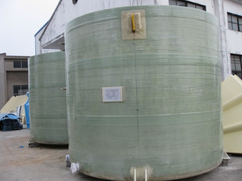 Fiber Glass Liquid tank (Circle)