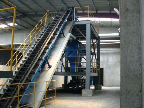 DDJ Type Belt Conveyor