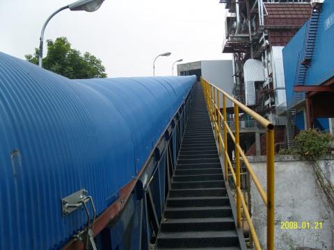 Semi-Closed Belt Conveyor