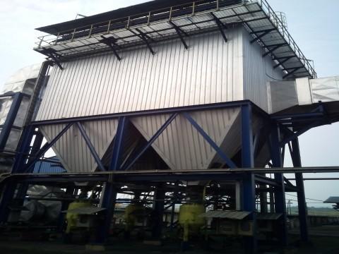 PLN SANGGAU 2x7 MW, kalimantan barat, bag pulse dust collector