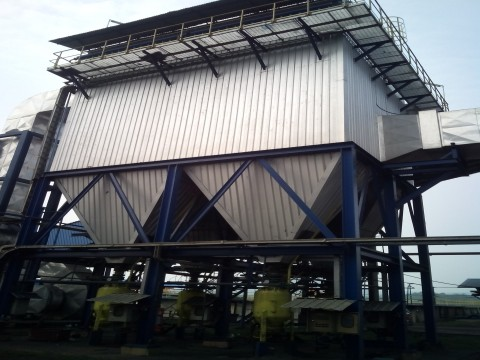 ESP, PLN SANGGAU 2x7 MW, kalimantan barat, bag pulse dust collector